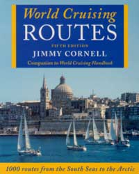 World Cruising Routes - Jimmy Cornell - Featuring Nearly 1000 Sailing Routes in All Oceans of the World.   Edición Inglesa 2002.   640 páginas .   Encuadernación: Tapa dura