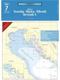 Juego de Cartas Nauticas Delius nº 7 - Mar Adriatico 1