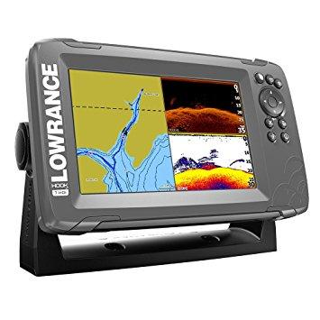 Lowrance HOOK² 7 con transductor SplitShot y mapa base