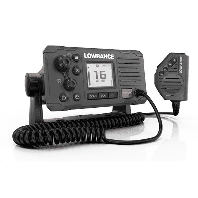 Emisora VHF Fija Lowrance Link-6 Marine DSC Negra, Clase D - Una radio VHF fija con DSC. Con las últimas funciones VHF y construida en alta calidad, la Link-6 es la radio ideal para aquellos que buscan la mejor relación calidad-precio.