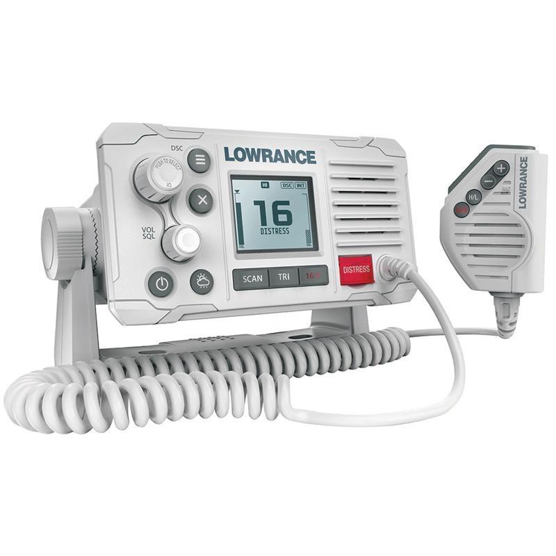 Emisora VHF Fija Lowrance Link-6 Marine DSC Blanca, Clase D - Una radio VHF fija con DSC. Con las últimas funciones VHF y construida en alta calidad, la Link-6 es la radio ideal para aquellos que buscan la mejor relación calidad-precio.