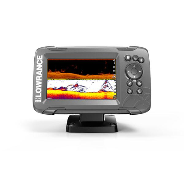 Lowrance HOOK² 5 con transductor SplitShot y mapa base