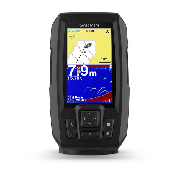 Garmin STRIKER™ Plus 4. Sonda CHIRP Con transductor de doble haz y GPS