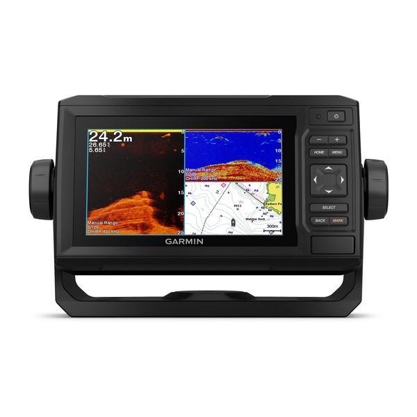 Garmin echoMAP Plus 62cv GPS plotter con sonda integrada - El plotter/sonda con pantalla de 6