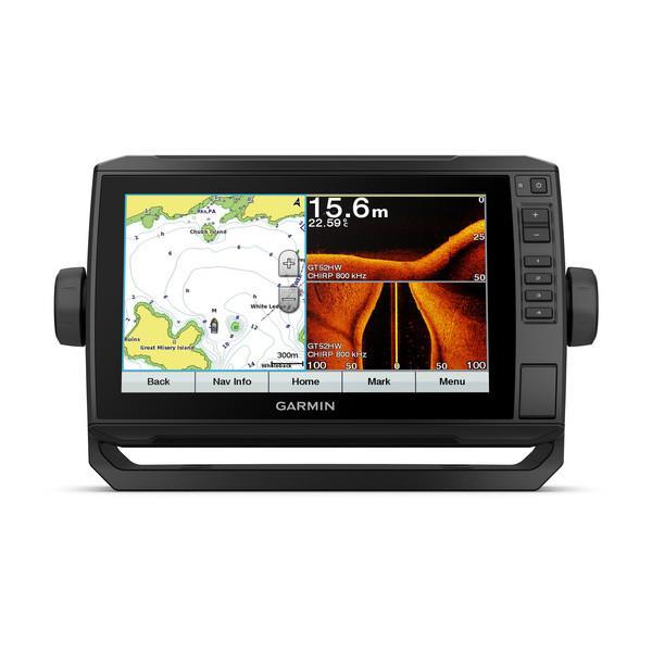Garmin echoMAP™ Plus 92sv. GPS plotter Pantalla tactil con sonda integrada - El plotter/sonda de 9