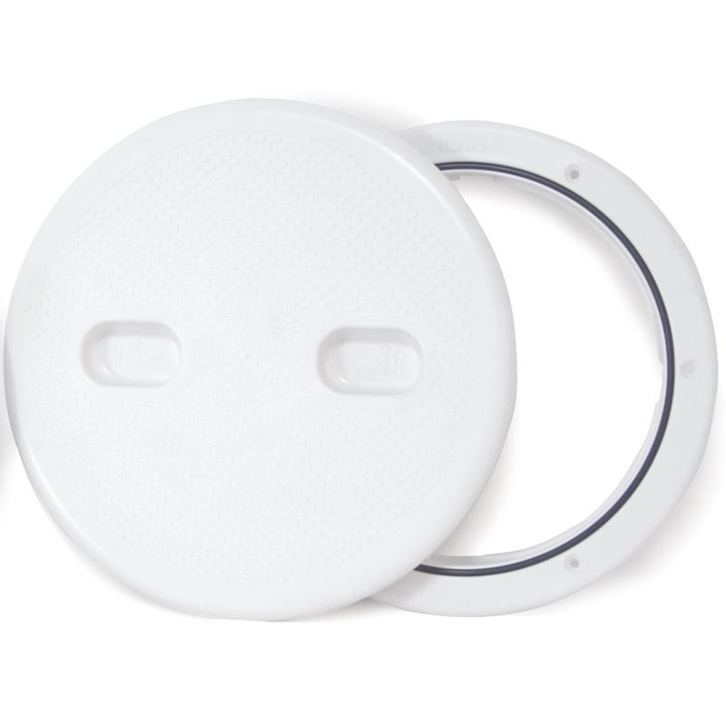 Tambucho de Inspeccion con tapa desmontable - Se abre con facilidad simplemente girando 90º contrario a las agujas del reloj.