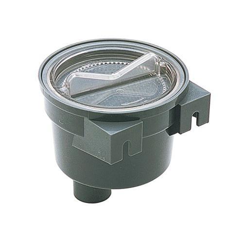 Filtro para Agua Refrigeracion Motor- Capacidad 150 Ltr / min - Conexión vertical 32 mm - Incluye filtro de acero inoxidable - Capacidad 150 Ltr / min - Diámetro: 120 mm