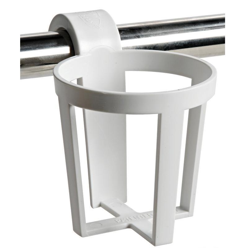 Juego 3 Soportes universal de Vasos para barandilla