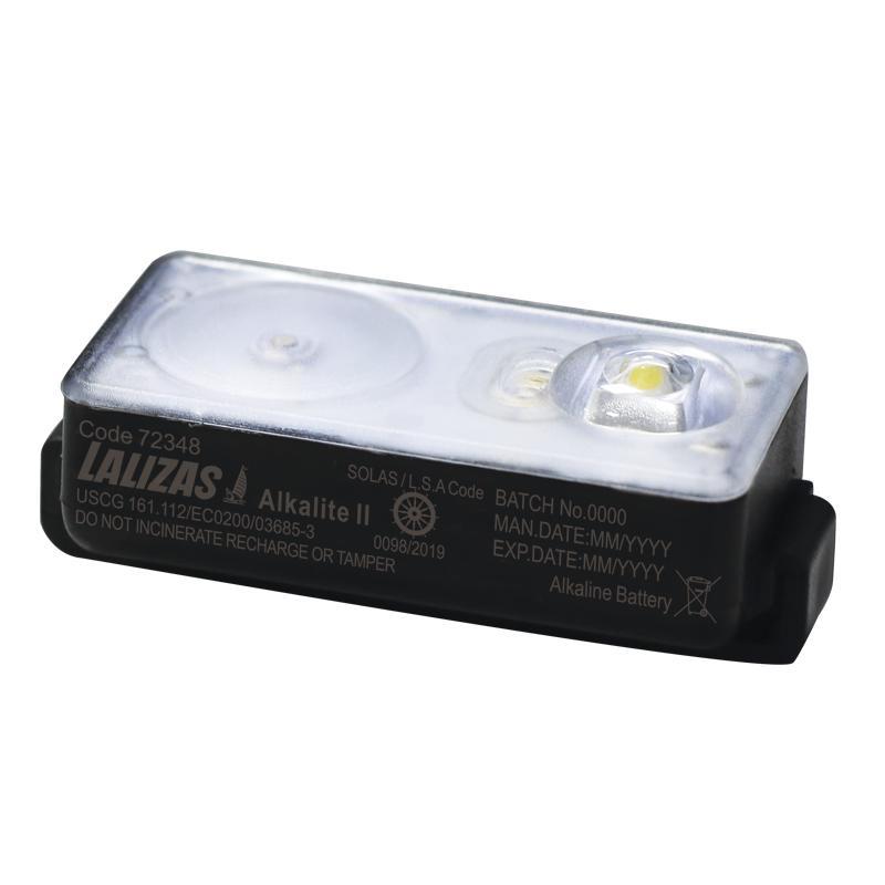 Luz de chaleco salvavidas LED parpadeante Alkalite II activado por agua SOLAS