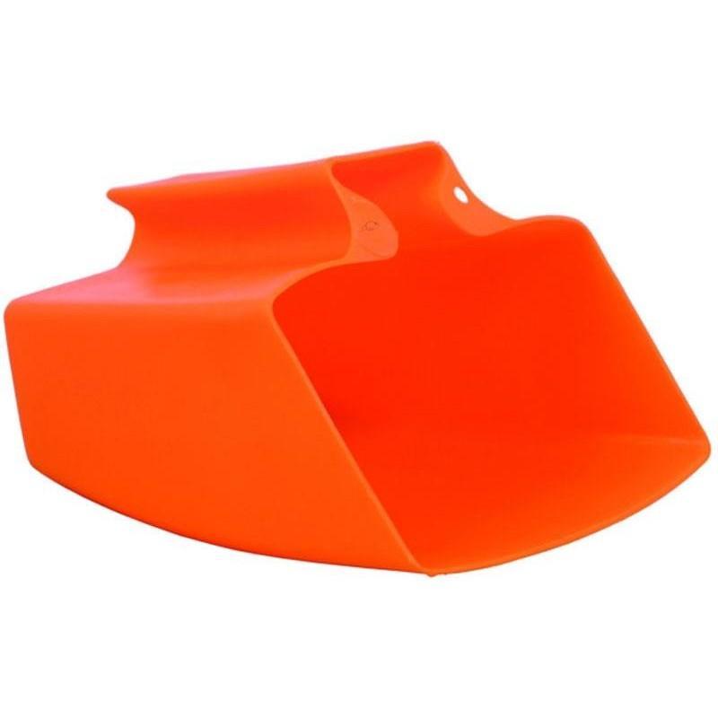 Achicador de Plastico Antichoque Color Naranja
