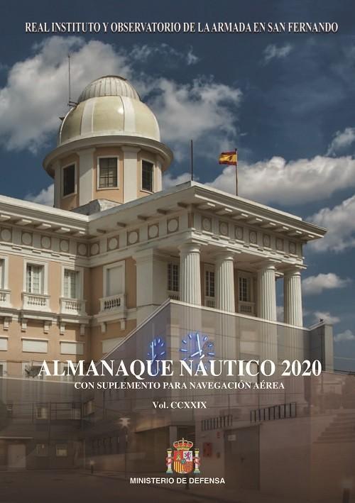 Almanaque Nautico 2020 con suplemento para la navegacion aerea