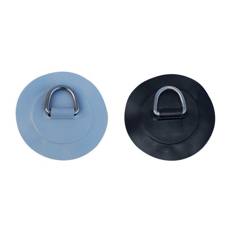 Anilla Inox y PVC cosida y reforzada para Neumatica - Anillade amarrecosida y reforzada, con parcheredondo para encolar en las embarcaciones neumáticas