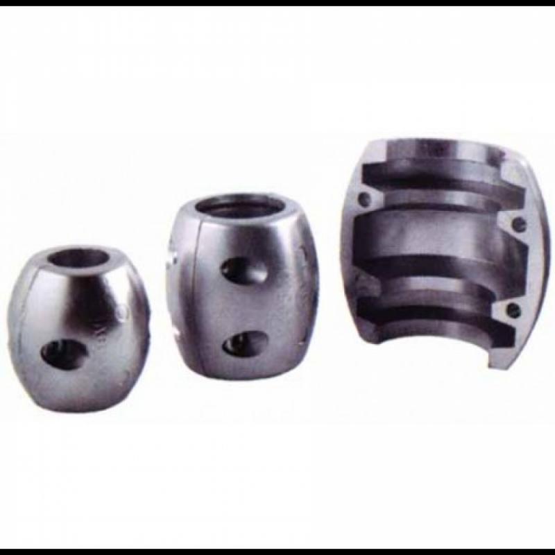 Anodo Collarin de Zinc para Eje - Ánodo collar para eje de cola. Fabricado en zinc.