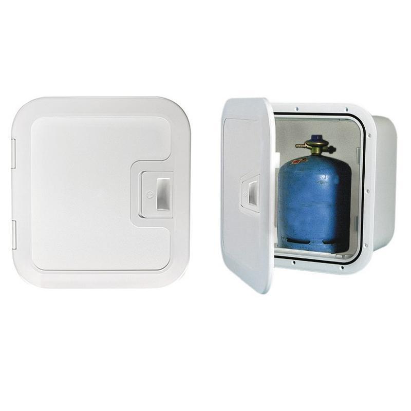 Armario de plástico apto para guardar botellas de gas (incluye ventilación integrada)
