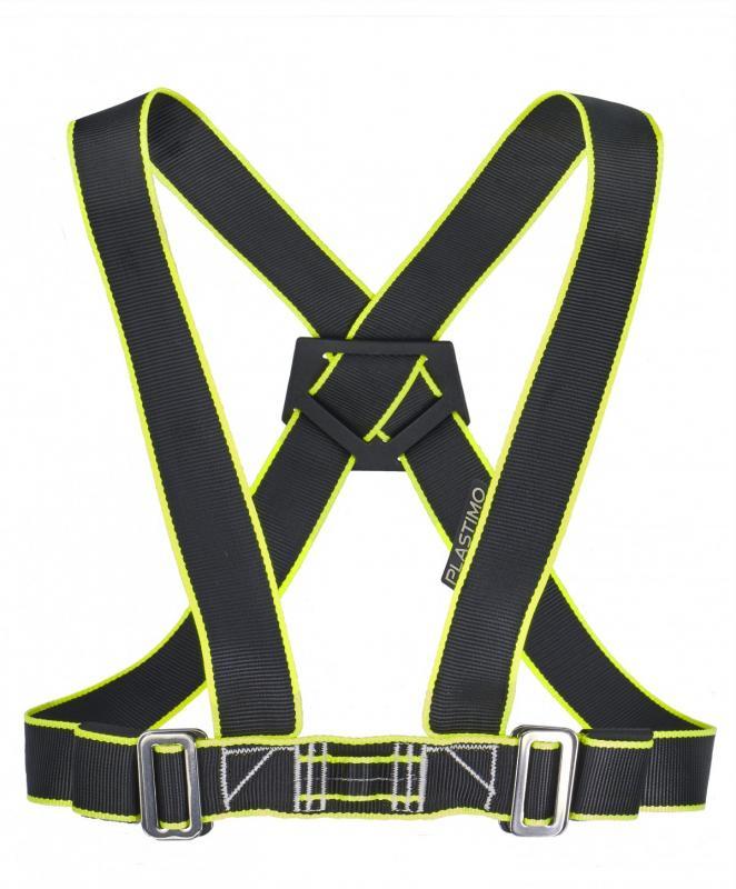 Arnes de Seguridad Doble Ajustable Plastimo - Arnés ergonómico de doble seguridad ajustable. Ajuste rápido y fácil: simultáneo en cintura y tirantes. Parte posterior en forma de X para mayor comodidad y libertad de movimiento.