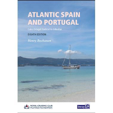 Atlantic Spain & Portugal - RCC Pilotage Foundation - Cabo Ortegal (Galicia) to Gibraltar .Edición inglesa 2019.352 páginas.Tapa dura
