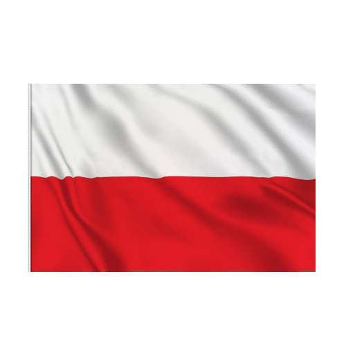 Bandera Polonia  45 x 30 cm