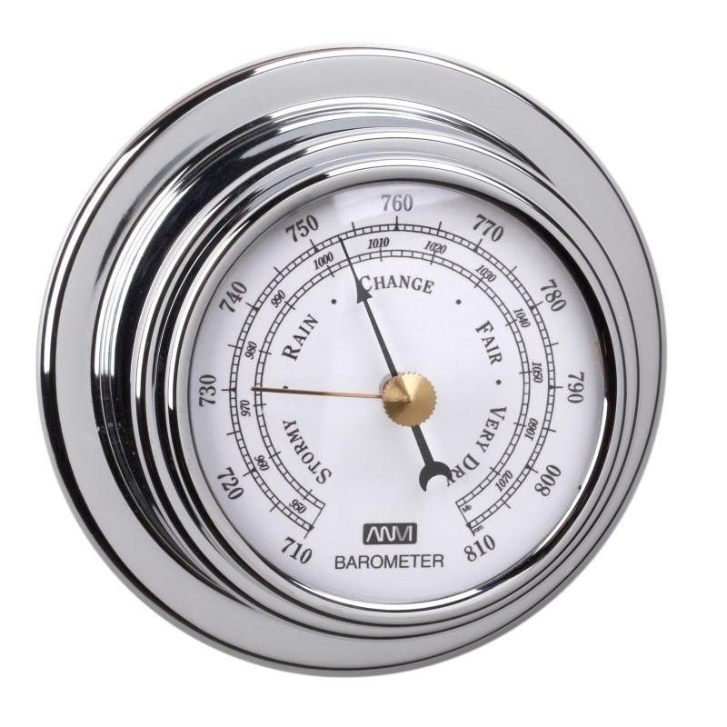 Barómetro Standard Case Esfera 70 mm Cromado