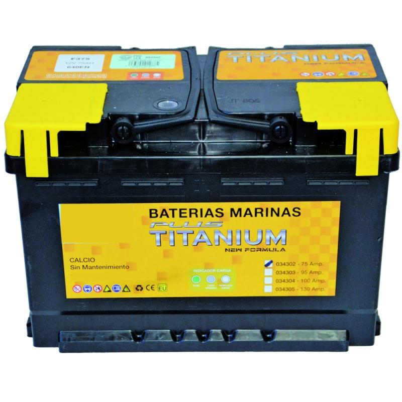 Baterias Marinas Plus Titanium selladas y reforzadas