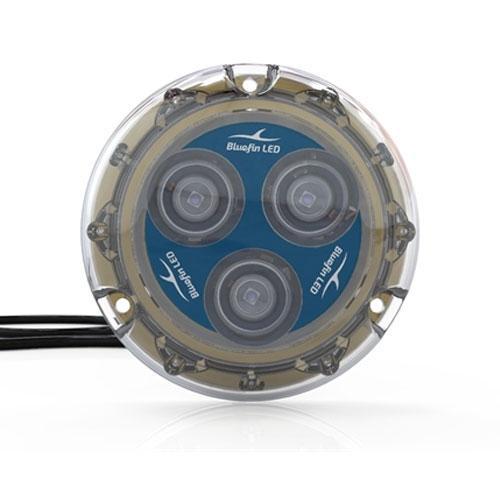 Bluefin LED Luz LED subacuática Piranha P3 SM, 12V, 1500 lum