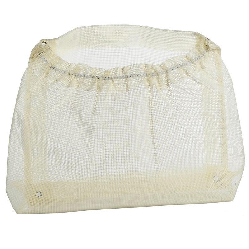 Bolsa de almacenamiento de rejilla color blanco 300 x 520 mm