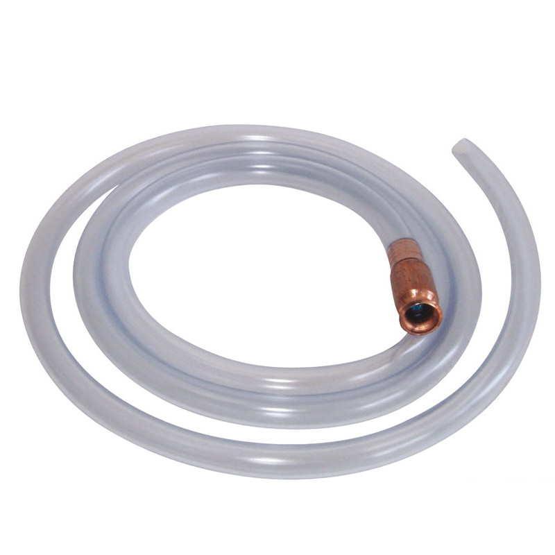 Bomba manual para el trasvase de líquidos con terminal de laton