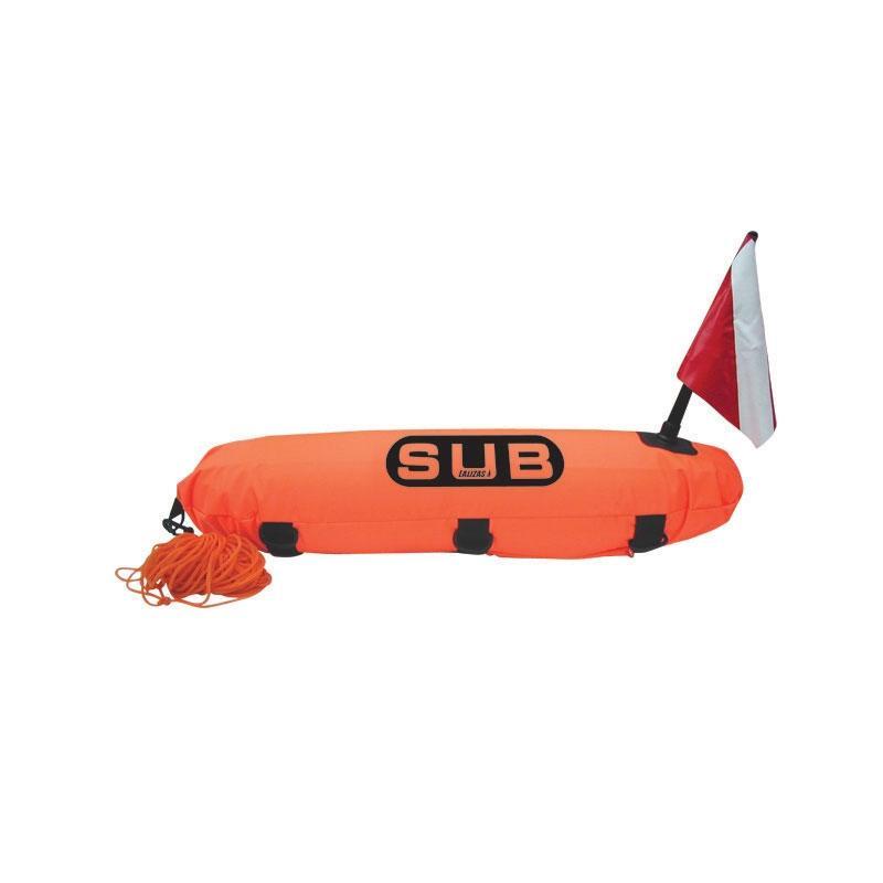 """Boya de Buceo """" DIVE SAFE"""" Torpedo con 20m de cabo"""