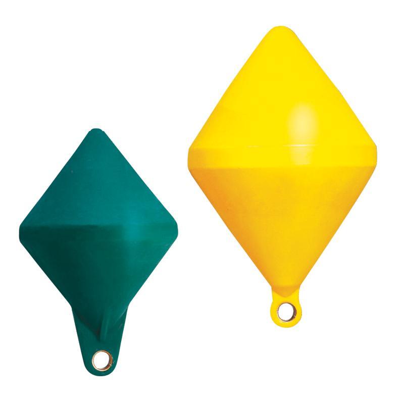 Boya de Señalizacion Biconica Amarilla / Verde