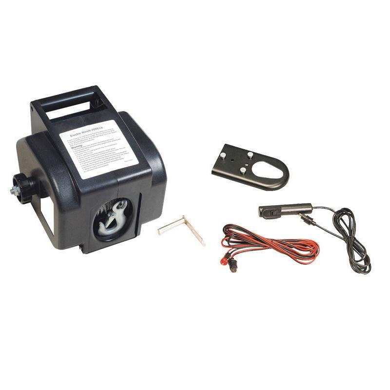 Winch Electrico 12V, 2000 lb / 1000 kg - Cabestrante