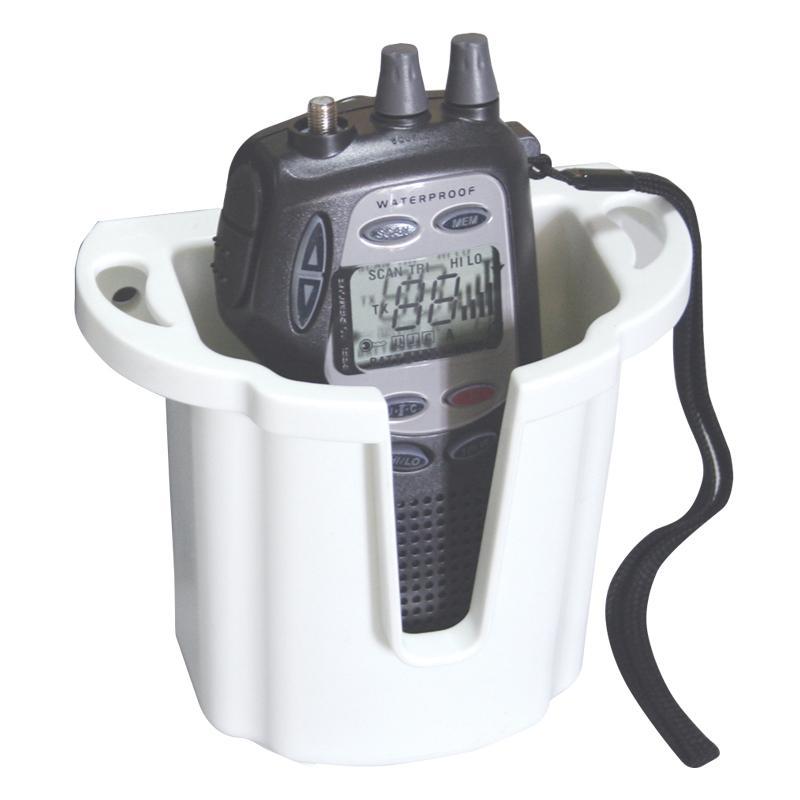 Caja / Soporte para VHF/FRS Store-All - Mantenga sus equipos de radiocomunicacion a mano, su reducido tamaño permite su instalacion cerca del puesto de mando...