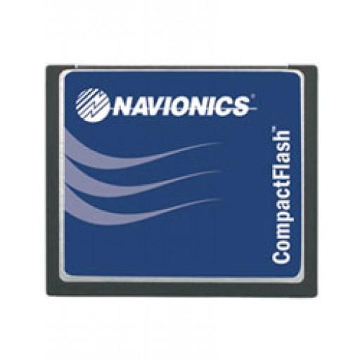 Cartucho cartografia Navionics Platinum +XL3 Compact Flash