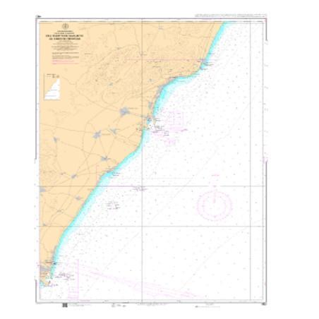 Carta del IHM 482 De Puerto de Sagunto a Cabo de Oropesa