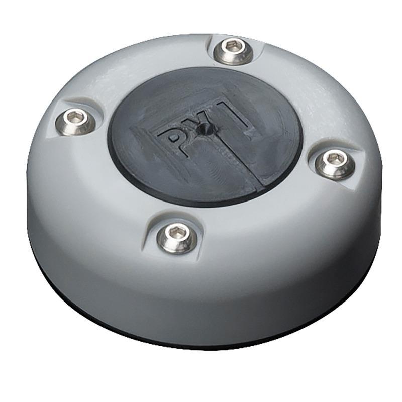 Pasacables Estanco Redondo Seaview CG30P-G - Pasacable redondo, fabricado en Plástico ABS Gris, para un cable con un conector de como máximo 31 mm. y un cable de como máximo 17 mm.