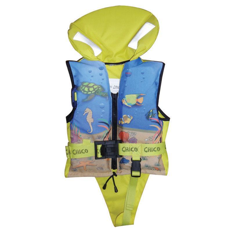 Chaleco salvavidas infantil, Chico 150N, ISO 12402-3 - El chaleco salvavidas Chico 150Nt proporciona un buen ajuste ergonomico y maxima seguridad.