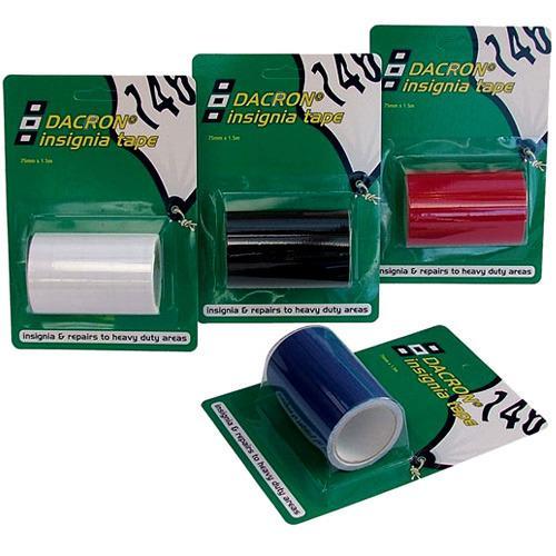 Cinta adhesiva PSP Dacron para Reparcion de Velas, 75 mm x 1,5 m
