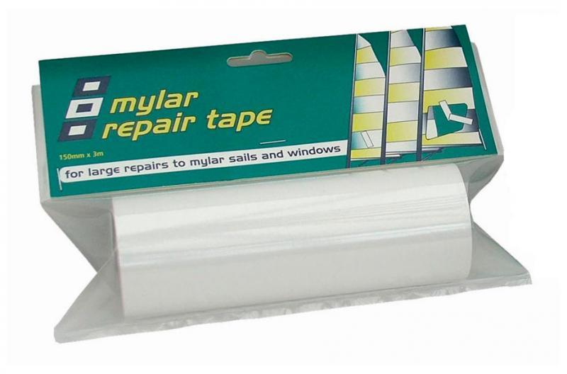 Cinta Mylar para Reparción de Velas 150mm x 3m - Cinta Mylar Sail Repair 150mm x 3m Transparente.