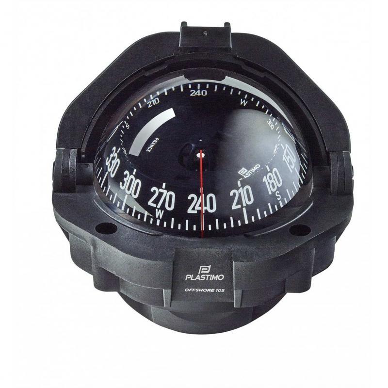 Compas Offshore Negro con Rosa negra 91 mm