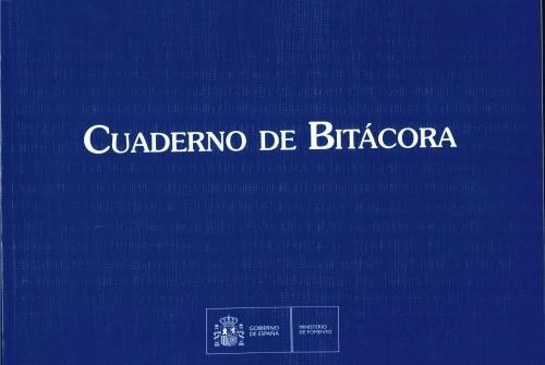 Cuaderno de Bitácora. Impreso Oficial - Ministerio de Fomento