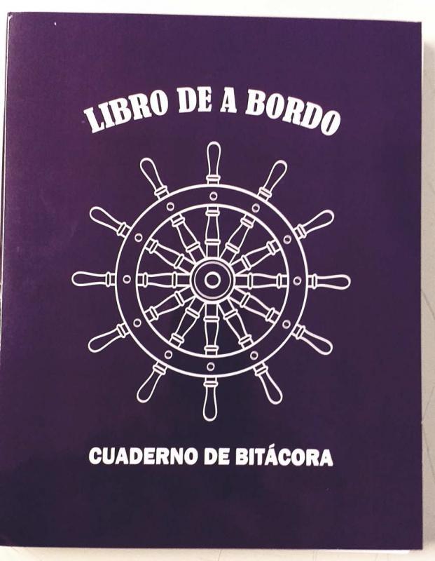 Libro de A Bordo 60 días - Cuaderno de Bitácora