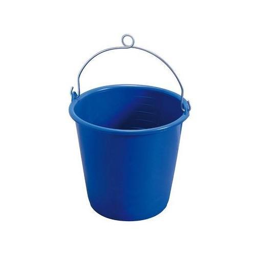 Cubo Balde de plastico con ojillo - Cubo auxiliar de plastico para baldeo o achique. Asa metalica con ojillo. Capacidad 10L.