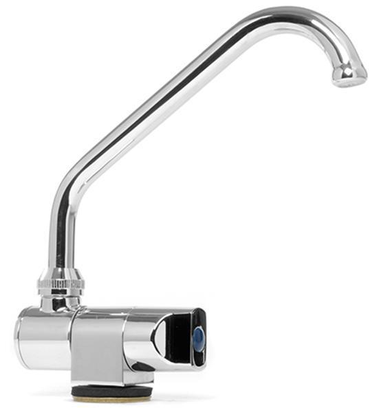 Grifo Abatible Inox Boquilla alta tipo Italia - Grifo Abatible Inox. Función agua fría.