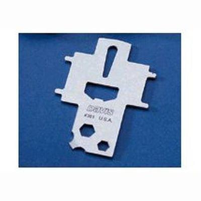 Llave Universal Davis - La llave universal reúne un gran número de herramientas necesarias a bordo en un único accesorio. Es compatible con todos los tipos de tapón que pueden encontrarse en una embarcación...