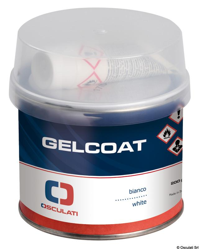 GELCOAT Osculati bicomponente 4 en 1, blanco 200g