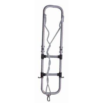 Escalera de aluminio para neumaticas - Escalera plegable de aluminio, de 2 o 3 peldaños, para neumáticas.   Diámetro de tubo: 25 mm.   Ancho y largo: Según modelo