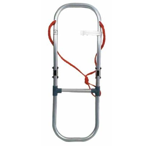 Escalera de aluminio plegable para neumaticas Premium