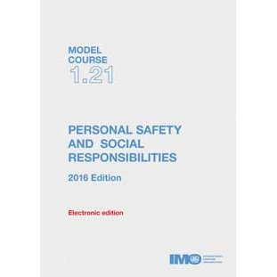 Modal Course 1.21 - Personal Safety & Social Responsibilities, 2016 Edition