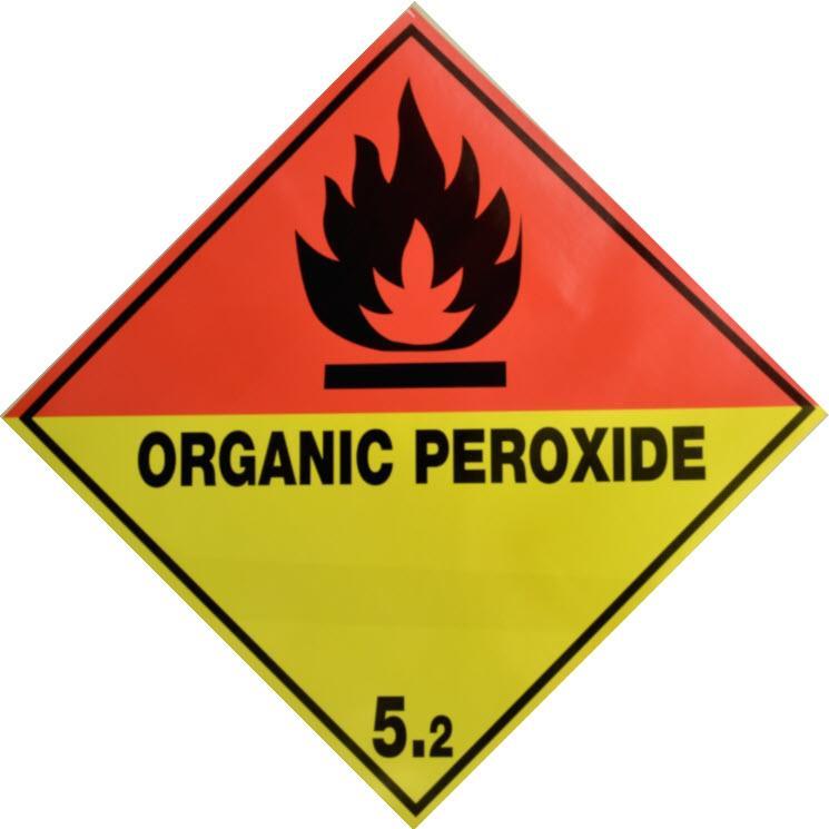 Etiqueta de Señalización IMDG Clase 5.2: Organic Peroxide