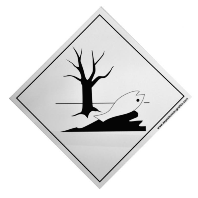 Etiqueta de Señalización IMDG Clase P: Marine Pollutant