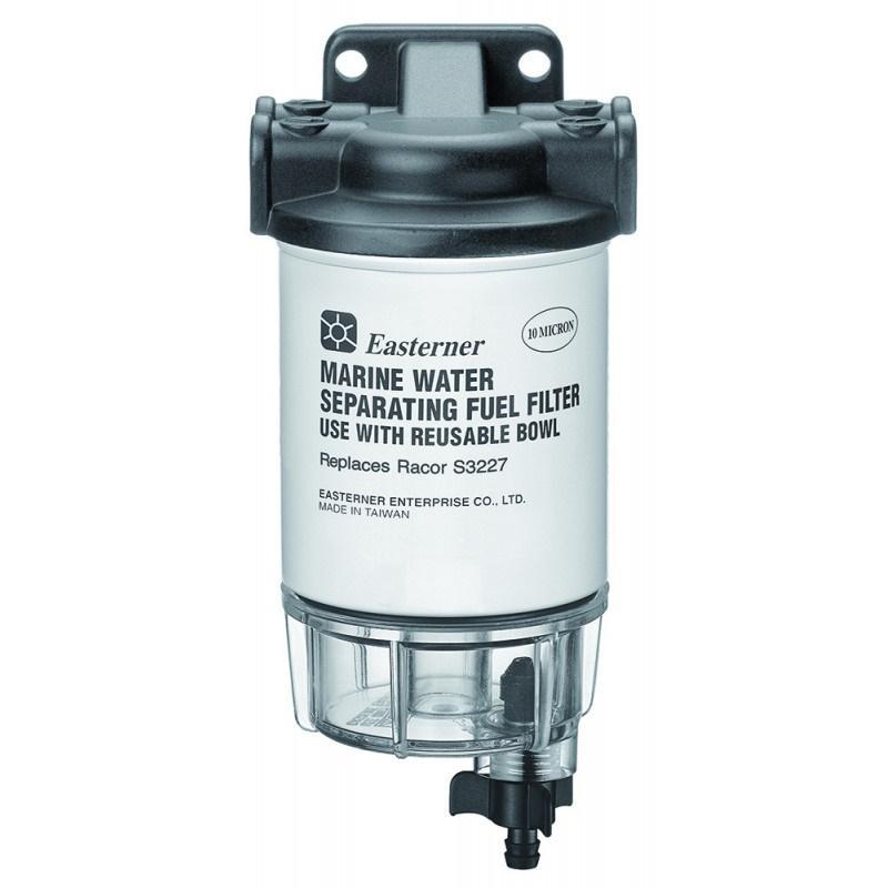 Easterner Filtro Separador Agua/gasolina, Decantador 227 L/H Universal 10µ EA-C14867P