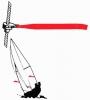 Catavientos para Obenques Newport Tell-Tales 6,4 mm - Este práctico utensilio de vela proporciona un excelente servicio tanto con vientos fuertes como con ligeras brisas. Se instala de forma fácil en el aparejo, sin necesidad de emplear herramientas. Incluye todos los soportes para el montaje en dos aparejos, completo manual de instrucciones y catavientos de recambio. Giran libremente sobre cable de 6 mm de diametro.